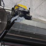 detail moteur rideau coupe feu devetissement vertical